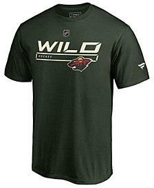 Majestic Men's Minnesota Wild Rinkside Prime T-Shirt