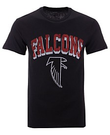 Authentic NFL Apparel Men's Atlanta Falcons Shadow Arch Retro T-Shirt