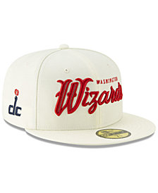 New Era Washington Wizards Jersey Script 59FIFTY-FITTED Cap