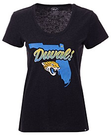Women's Jacksonville Jaguars Scoop Neck Duval T-Shirt