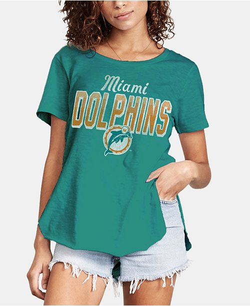 new concept 15c8e 803ae Women's Miami Dolphins Short Sleeve T-Shirt