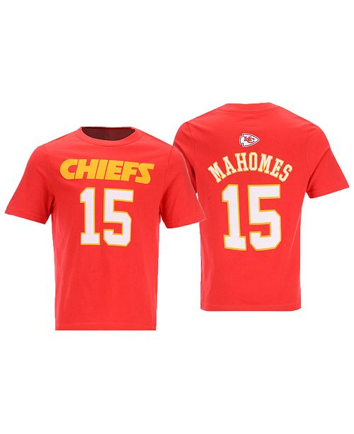 new products cb7fb 2c92c Outerstuff Pat Mahomes Kansas City Chiefs Mainliner Player T ...