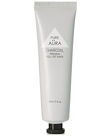 Pure Aura Black Charcoal Peel Off Mask, 1 oz.