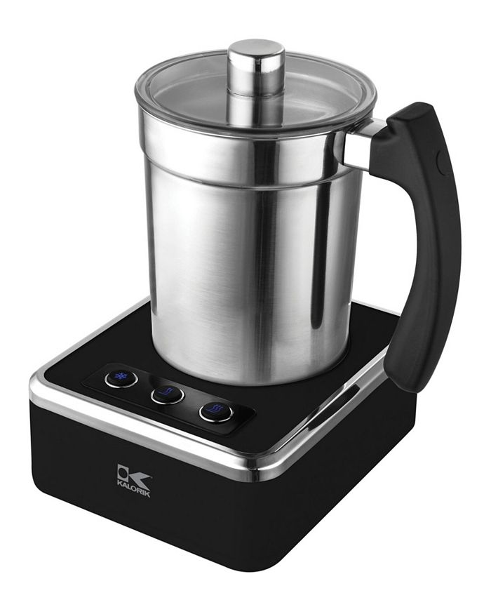 Kalorik - Black and Stainless Steel Milk Frother