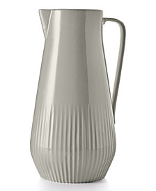 Hotel Collection Modern Stone Pitcher, Created for Macy's