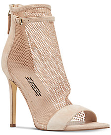 Nine West Gotbank Mesh Dress Sandals