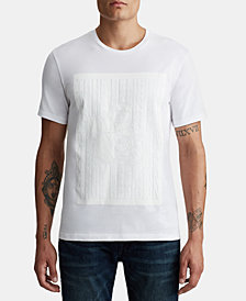 True Religion Mens Matte Buddha Graphic T-Shirt