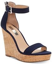 Black Wedge Sandals  Shop Black Wedge Sandals - Macy s 114bea6a4493