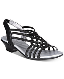 Karen Scott Elinoor Slingback Sandals, Created for Macy's