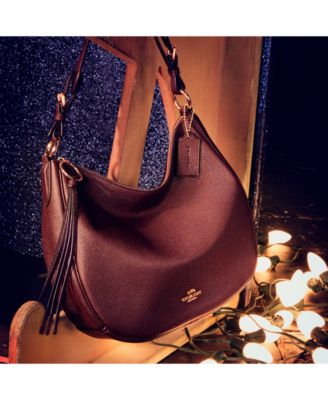77deebc1e325 Sutton Hobo in Polished Pebble Leather