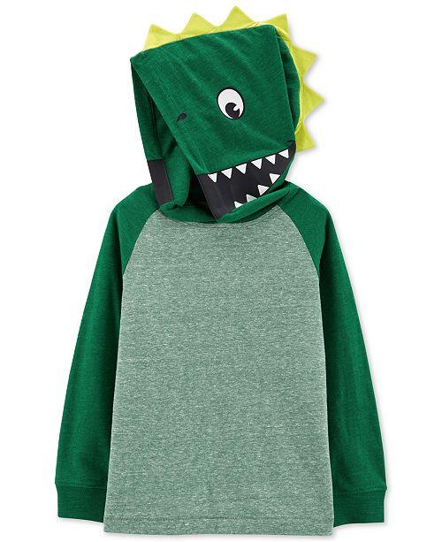 Carter's Toddler Boys Dinosaur Hood Shirt