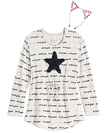 Belle Du Jour Big Girls 2-Pc. Star Tunic & Headband Set