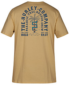 Hurley Mens Paradise Tree Hugger Graphic T-Shirt