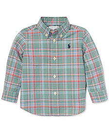 Polo Ralph Lauren Baby Boys Plaid Cotton Shirt