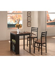 Willard Casual 3 Piece Dining Set