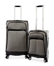 Perry Ellis Marquis 2-Piece Luggage Set