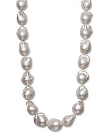 "Cultured Baroque Freshwater Pearl (13 to 16mm) 17"" Collar Necklace"