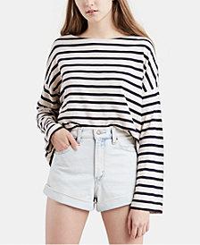 Levi's® Cotton Striped Top