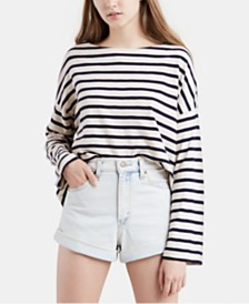 Levi's® Cotton Striped Top
