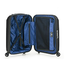 "Traveler's Choice Riverside 21"" 100% Lightweight Polycarbonate Spinner Luggage"