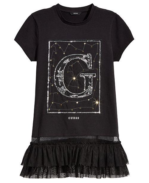 d642fa398d GUESS Big Girls Peplum Hem Tunic   Reviews - Shirts   Tees - Kids ...