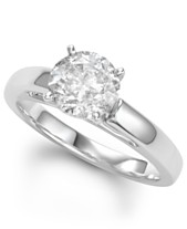 0a0d35d41015 Diamond Solitaire Engagement Ring (2 ct. t.w.) in 14k White Gold