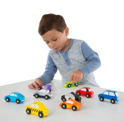 Wooden Cars Set