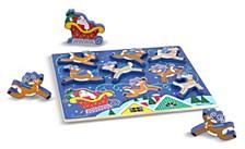 Santa'S Sleigh Chunky Puzzle