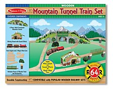 Mountain Tunnel Train Set