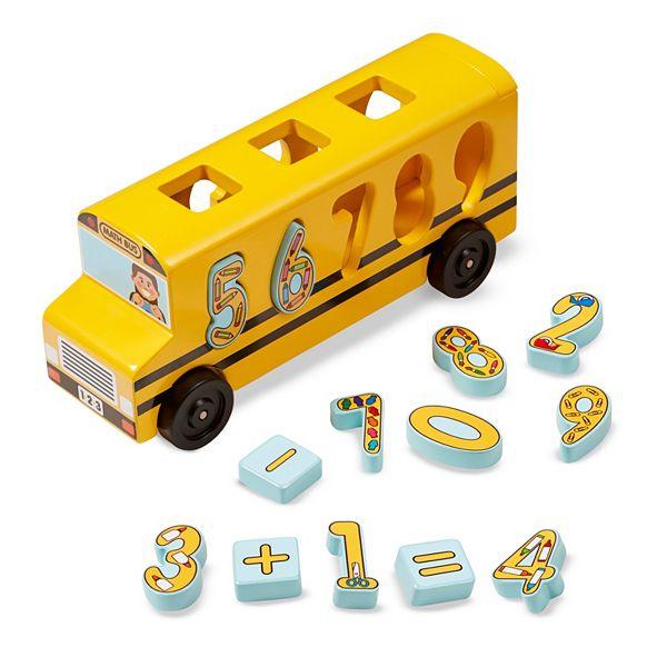 Melissa and Doug Number Matching Math Bus