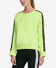 DKNY Sport Logo Fleece Sweatshirt, Created for Macy's