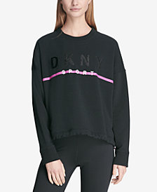 DKNY Sport Embroidered Logo Fleece Sweatshirt, Created for Macy's
