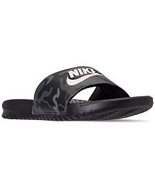 Nike Men's Benassi Just Do It Print Slide Sandals from Finish Line