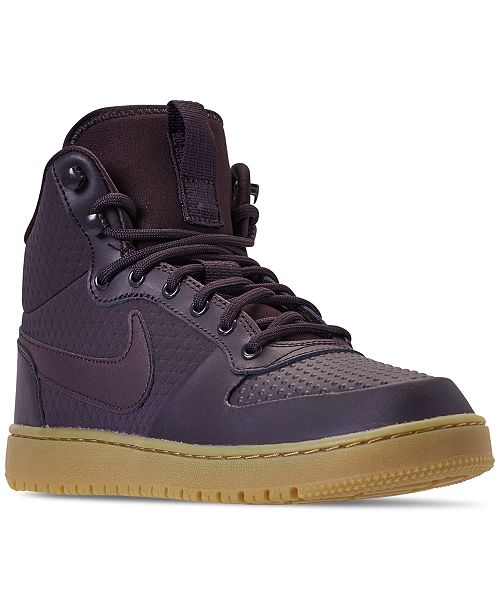 Nike Men's Ebernon Mid Winter Casual Sneakers from Finish Line ...