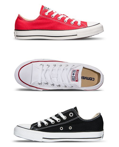 7e752a44aed0 Converse Women s Chuck Taylor All Star Ox Casual Sneakers from Finish Line