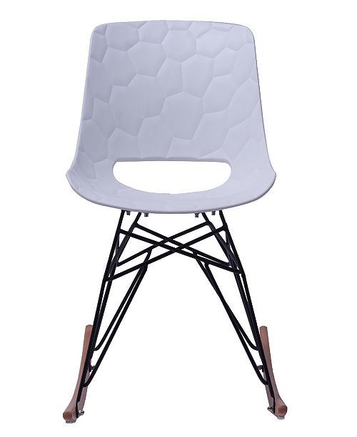 Cool Tov Furniture Crescent White Rocking Chair Reviews Short Links Chair Design For Home Short Linksinfo