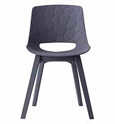 Jayden Grey Chair, Set Of 2