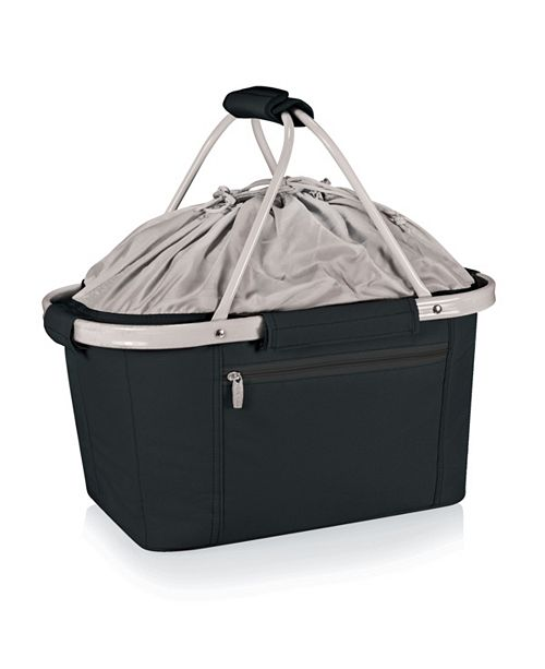 Picnic Time Oniva™ by Metro Black Basket Collapsible Cooler Tote