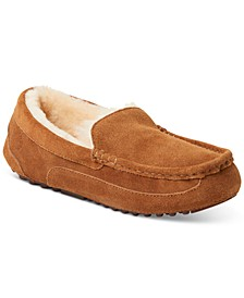 Men's Fireside Melbourne Shearling Moccasin Slippers