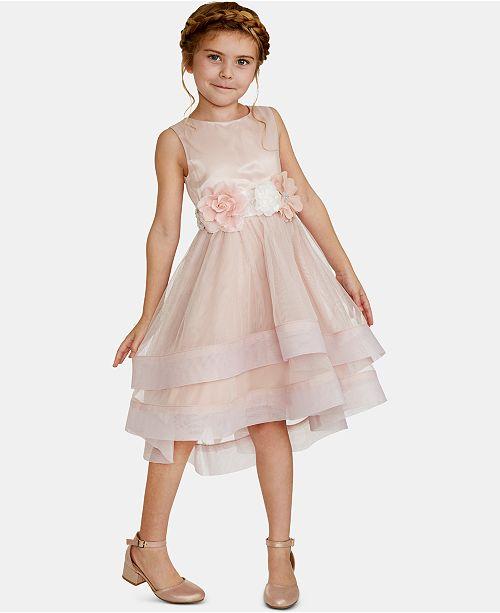 ba86dfd03709b Rare Editions Toddler Girls Floral-Trim Dress & Reviews - Dresses ...