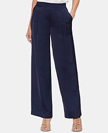Vince Camuto Pull-On Pleated Pants