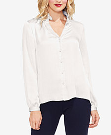 Vince Camuto Ruffle-Collar Blouse