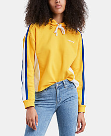 Levi's® Cropped Colorblocked Hoodie