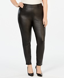 Seven7 Jeans Plus Size Ponté-Knit Jeggings