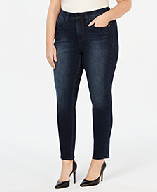 Seven7 Jeans Plus Size Skinny Jeans