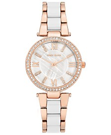 Anne Klein Women's Two-Tone Bracelet Watch 33mm
