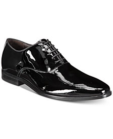 HUGO Men's High Line Patent Leather Oxfords