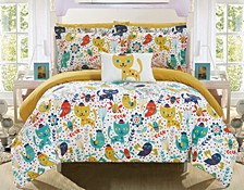 Flopsy 8 Piece Full Bed In a Bag Comforter Set