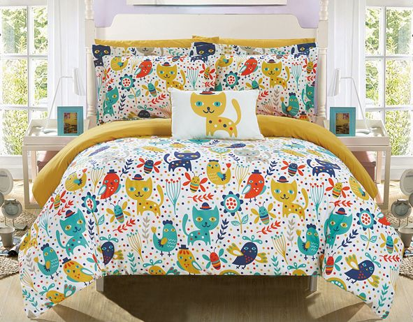 Chic Home Flopsy 8 Piece Full Bed In a Bag Comforter Set