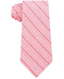 Calvin Klein Men's Bold Life Slim Stripe Tie
